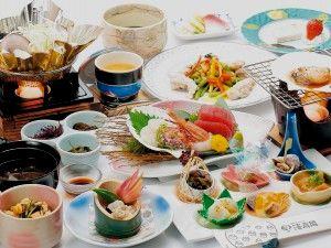青森ピンクコンパニオンパック料理