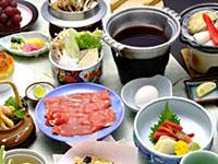 夕食すき焼き鍋