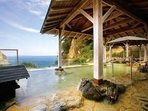 五浦観光ホテル露天風呂