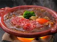 夕食鍋焼き