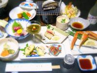 夕食海鮮料理