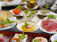 夕食懐石料理