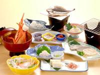 夕食 海鮮料理