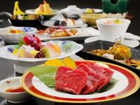 和牛の夕食