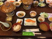 焼き魚夕食