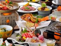 懐石料理の夕食