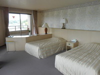 洋室のベッドルーム