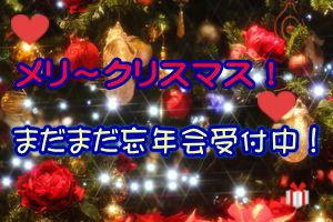ピンクコンパニオン東京のクリスマスバナー